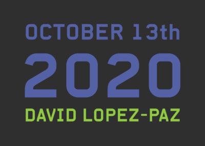Speaker : David Lopez-Paz (Facebook)